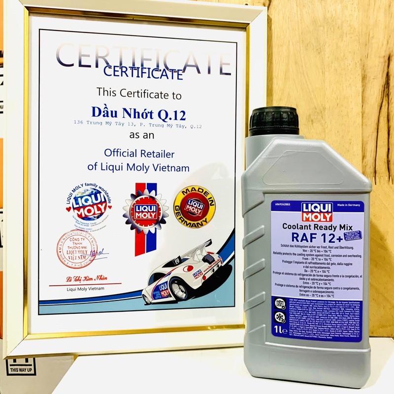 Nước Làm Mát Đã Pha Sẵn Liqui Moly Coolant Ready Mix RAF 12 Plus 6924 1L - Nước Màu Đỏ Hồng