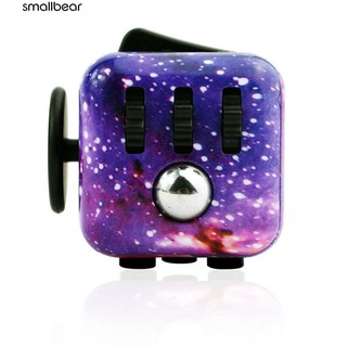 💮🐬Starry Sky Stress Relief Cube Kid Toy Anxiety Attention Focus Dice Gift