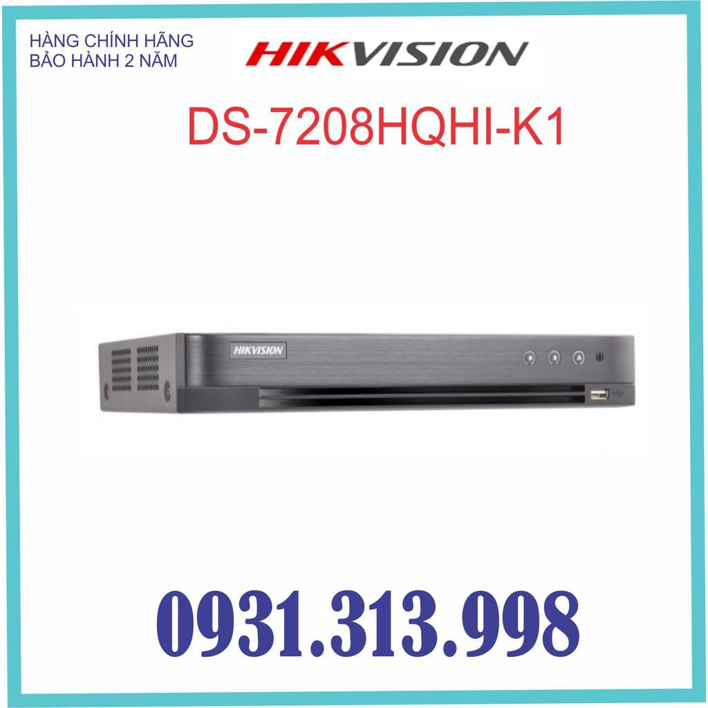 Đầu ghi hình HIKVISION 8 kênh 4.0mp DS-7208HQHI-K1 (S)