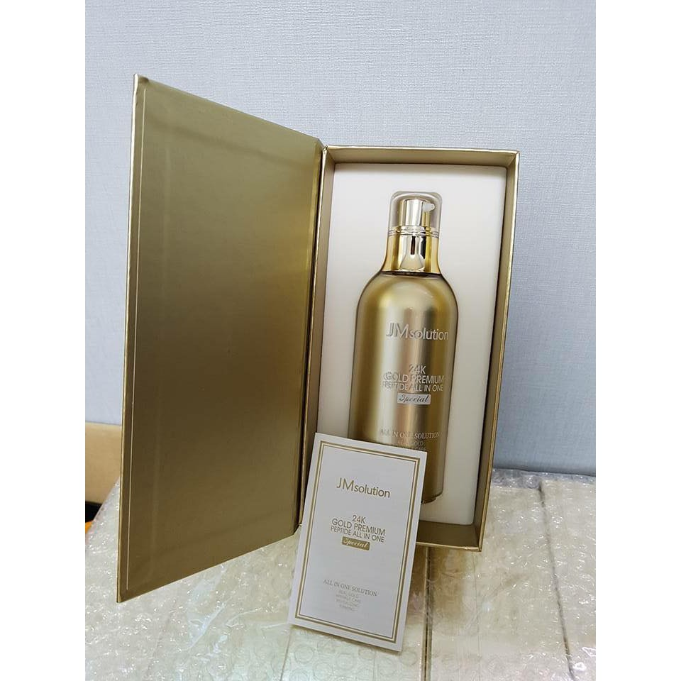 Tinh chất JM Solution 24K Gold Premium Peptide All In One Special