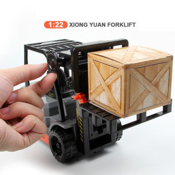 Children Inertial Plastic Forklift Simulation Engineering Car Toys as Gifts