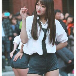 Quần bảo hộ quần mặc trong váy giống idol Kpop có size to bigsize quần lót mặc váy không viền ren