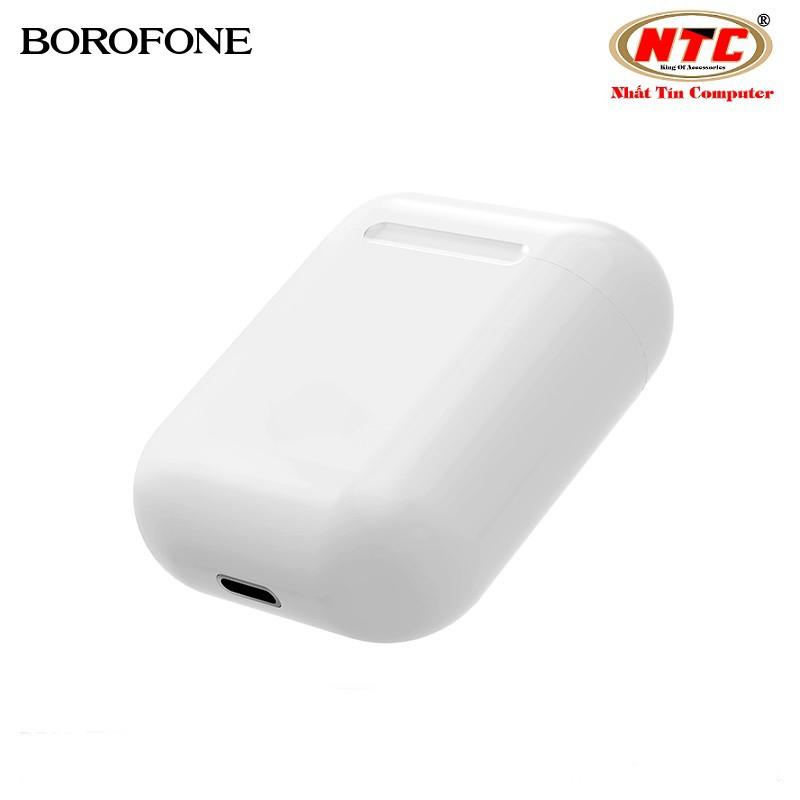 Tai nghe bluetooth True Wireless Borofone BE28 Plus Original series V5.0 (Trắng) - Hàng chính hãng