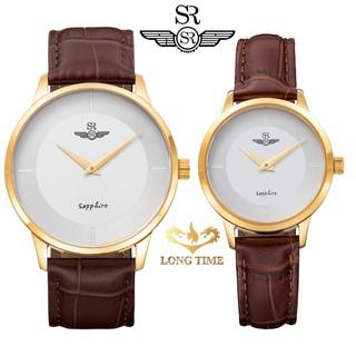 Đồng hồ cặp Đôi SRWATCH SG3004.4602CV & SL3004.4602CV Mặt kính Sapphire Chống trầy C thumbnail