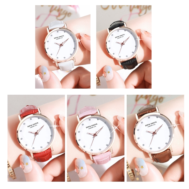 [Mã FASHIONCB44 giảm 10K đơn 0 đồng] Đồng hồ đeo tay XIAOYA 1315 cao cấp cho nữ