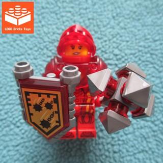 LEGO Minifigures Hiệp Sĩ Ultimate Macy – Nhân Vật LEGO Nexo Knights Hiệp Sĩ Đỏ