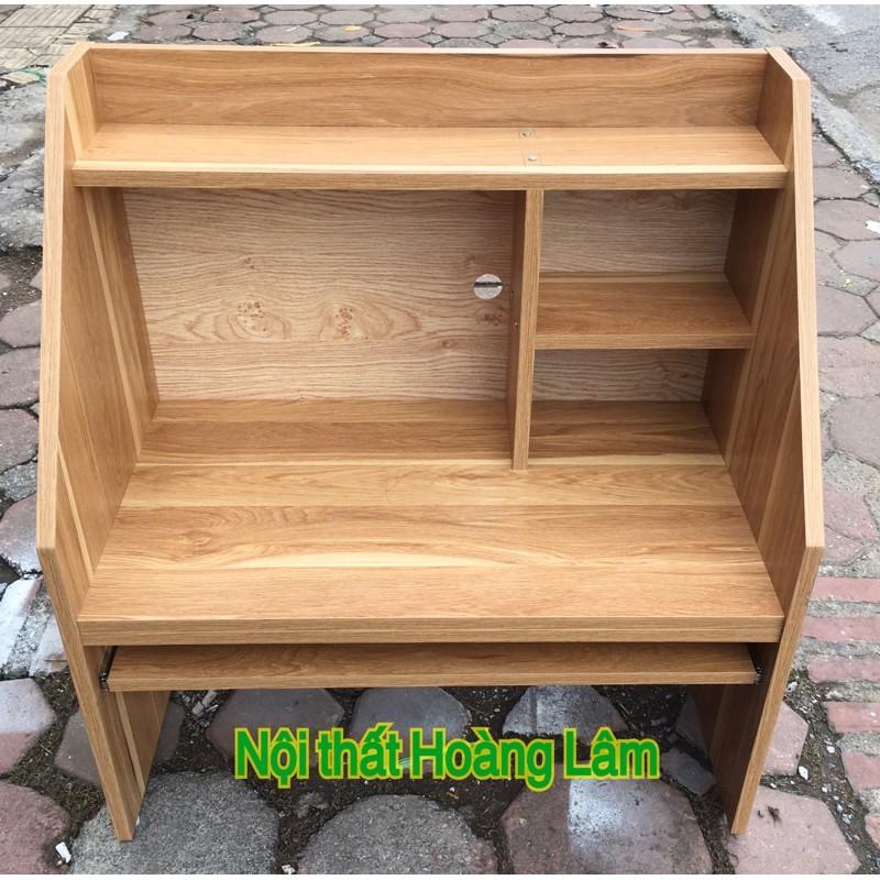Bàn giá sách ngồi bệt gỗ công nghiệp