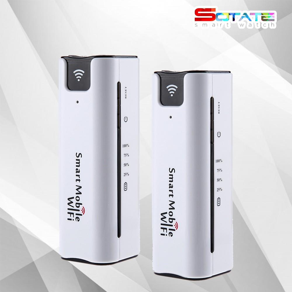 Bộ Phát WIFI 3G ĐỜI MỚI ROUTER MIFI7 Kiêm Sạc Dự Phofng 2200 mAh