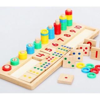 Bộ bảng toán Montessori