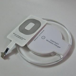 Đế sạc không dây chuẩn Qi Fantasy tặng chuyển đổi cho iphone thumbnail