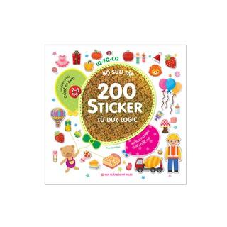 Sách - Bộ sưu tập 200 sticker - Tư duy, logic thumbnail
