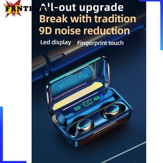 (Fenteer2 3c) F9-5 Tws Bluetooth 5.0 Không Dây Âm Thanh Stereo 9d Stereo Cho Ios / Android