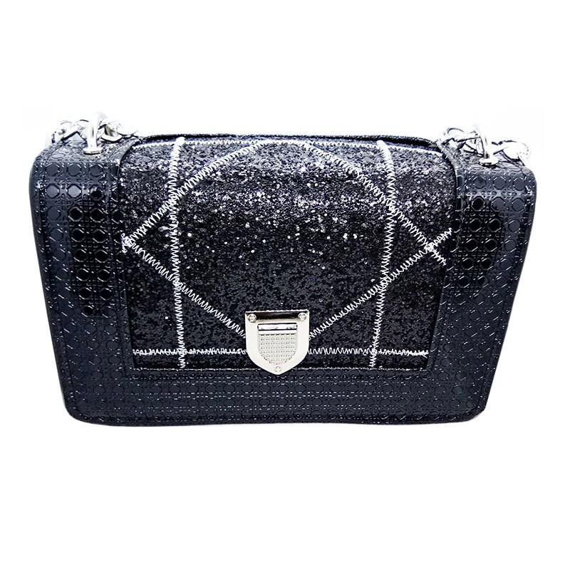 Túi đeo chéo nữ nhũ kim sa dio BT20 giá rẻ