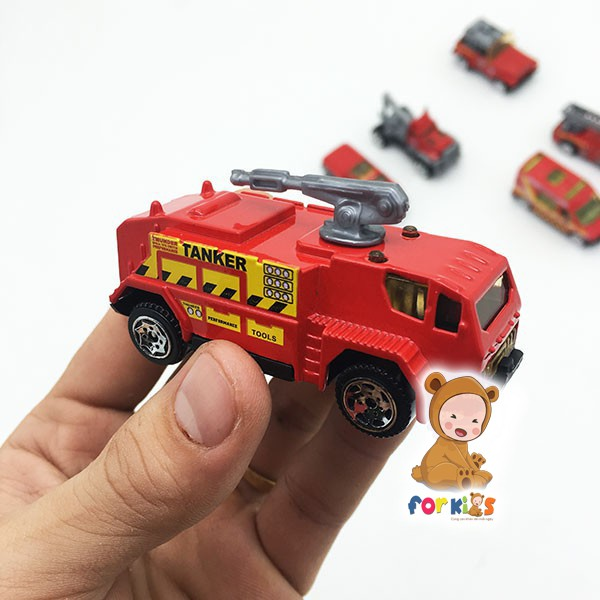Bộ 5 xe cứu hỏa