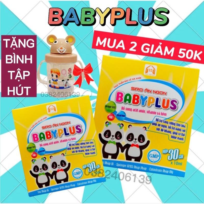 BABYPLUS - Siro Ăn Ngon Baby Plus, Giúp Bé Ăn Ngon, Ngủ Ngon, Tiêu Hoá Tốt, Tăng Cân, Tăng Sức Đề Kháng