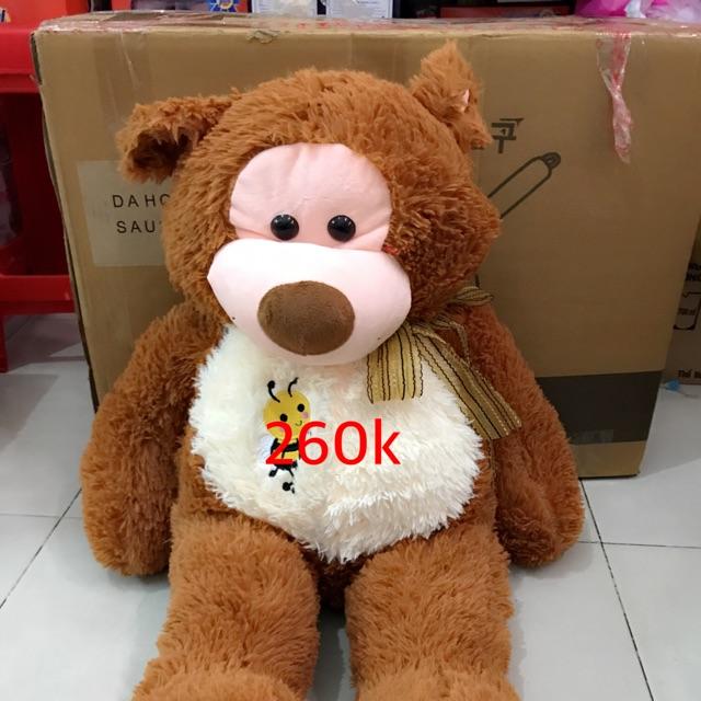 Gấu bông khỉ nâu