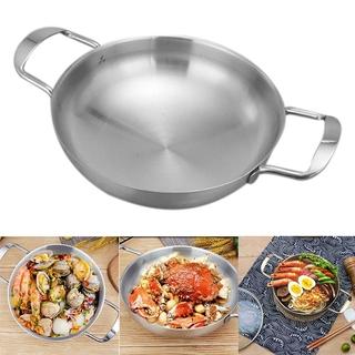 Classic Stainless Steel Everyday Pan Cookware – Inner Diameter 20cm