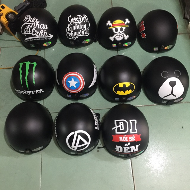 Mũ các loại hình ( khoảng 50 hình)