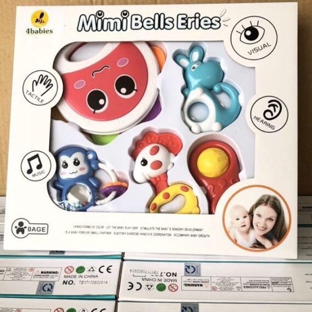 Hộp đồ chơi xúc xắc 5 món Toys House 776-B7 - Hàng chính hãng