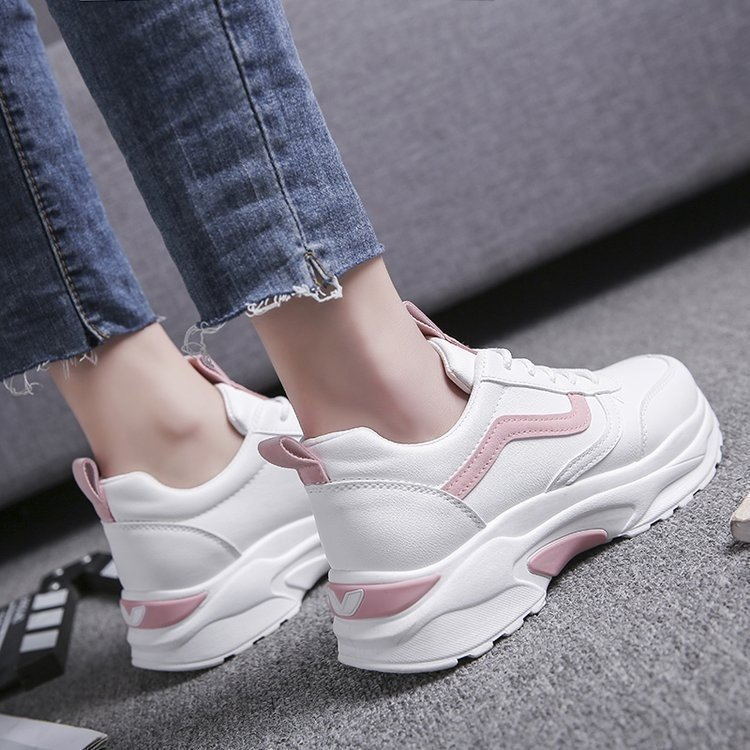 Giày Nữ Thể Thao Sneaker Hàng Hiệu Cao Cấp Màu Trắng Đẹp Phong Cách Hàn Quốc Dễ Phối Đi Học Đi Chơi