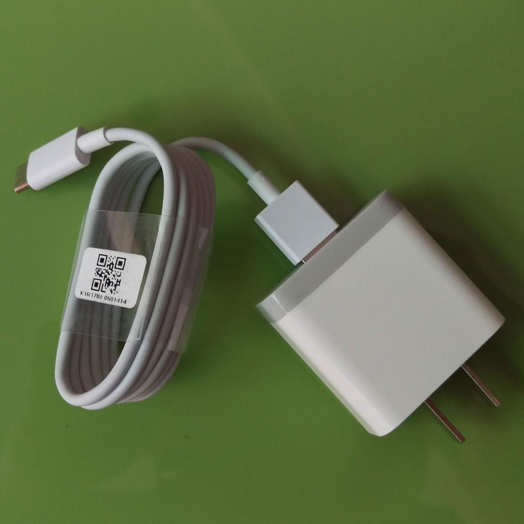 Củ sạc nhanh Quick Charge 3.0 Xiaomi MDY-08-ES dùng cho máy Xiaomi Mi6 + Cáp Xiaomi Type-C / cap sac CHUI TO