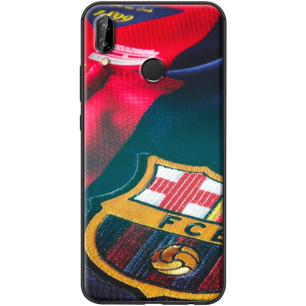 Ốp lưng nhựa dẻo Huawei Nova 3E FCB nền áo