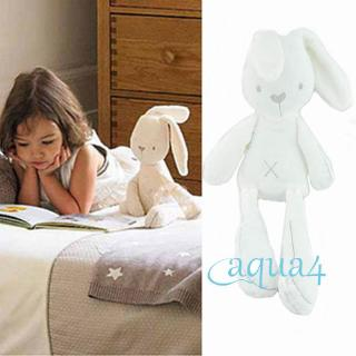 ❄❅❆Cute Bunny Rabbit Stuffed Animal Plush Toy Baby Kids Soft Appease Bed Pillow Toy