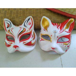 Mặt nạ cáo, mèo cosplay vẽ theo yêu cầu