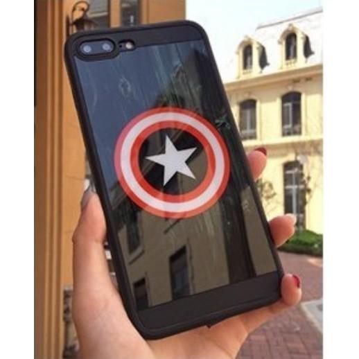Ốp Caption American Ốp gương iPhone 6 6s 6 Plus 6s Plus 7 7 Plus 8 8 Plus ngôi sao