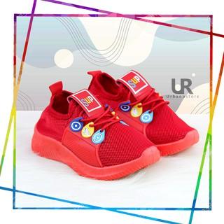 Giày Thể Thao L212 Màu Đỏ Thời Trang Cho Bé