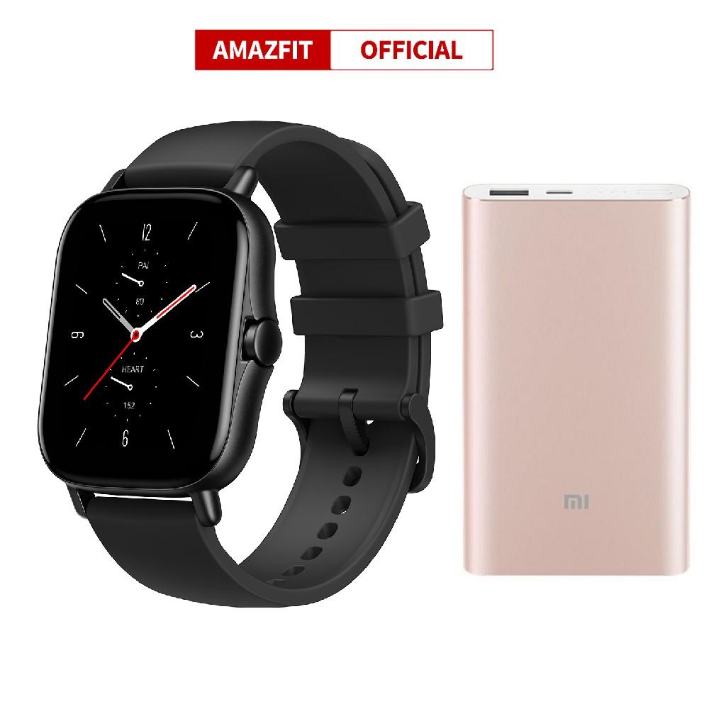 Đồng hồ Xiaomi Huami Amazfit GTS 2 ( khuyến mãi pin Xiaomi 10.000 Pro Type C - Bảo hành 12 Tháng chính hãng Digiworld