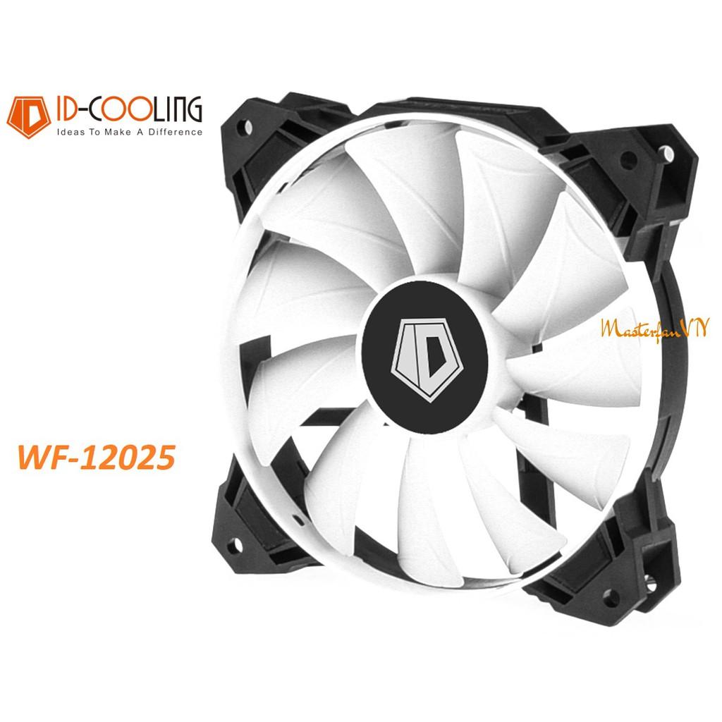 Quạt fan case 12cm ID-Cooling WF-12025 - Quạt thổi RAD 4pin điều tốc PWM sức gió lớn