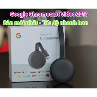 Thiết Bị TV Streaming Google Chromecast 3 (2018) màu đen charcoal