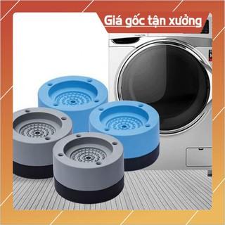 [set 4 đệm cao su]Chân đế máy giặt CHỐNG RUNG SIÊU HIỆU QUẢ