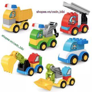 Smoneo - Lego xe lắp ráp tương thích lego duplo thumbnail
