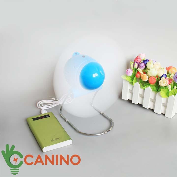 Quạt Con Cóc FREESHIP Quạt Con Cóc Mini Cắm Cổng USB Canino