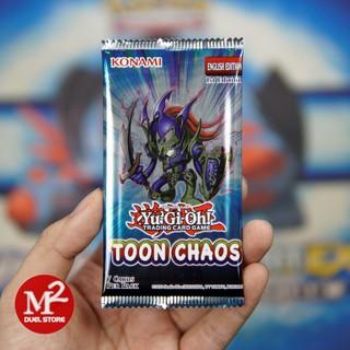 Túi thẻ bài Toon Chaos – Yugioh Booster Pack – 7 lá bài – Nhập khẩu từ Anh UK – Giao hình pack ngẫu nhiên