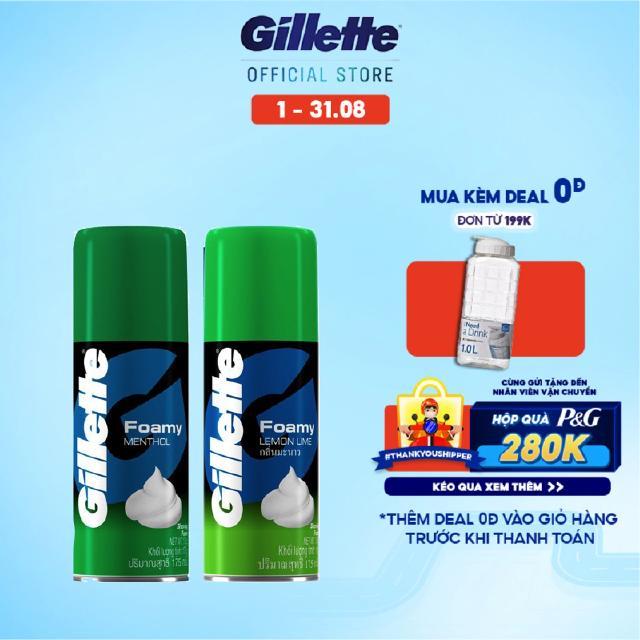 Bọt cạo râu Gillette 175g
