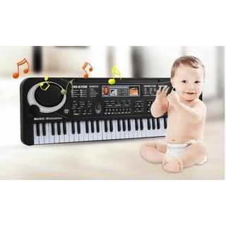 Đồ chơi trẻ em giáo dục sớm đàn organ điện tử đa năng 61 phím MQ6106 -AL
