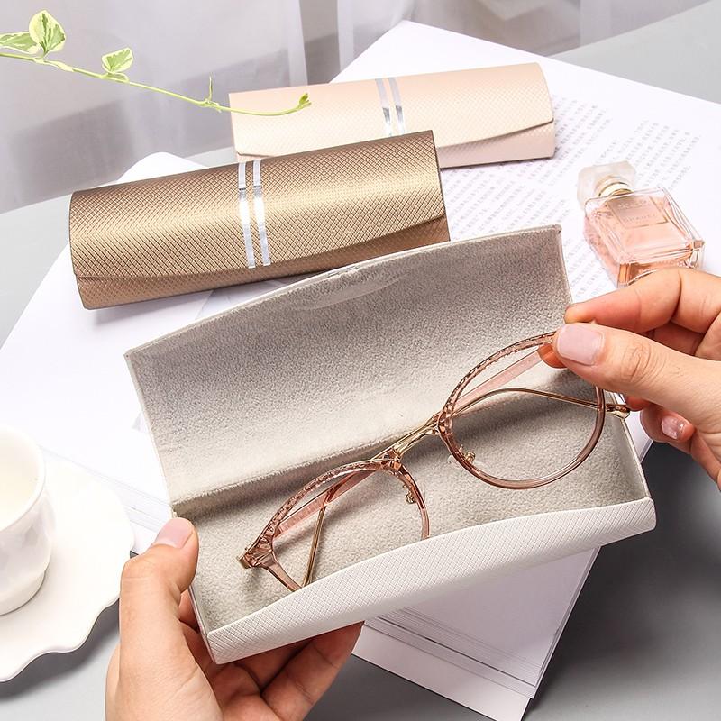 กล่องใส่แว่นตาขนาดเล็กสไตล์วินเทจ