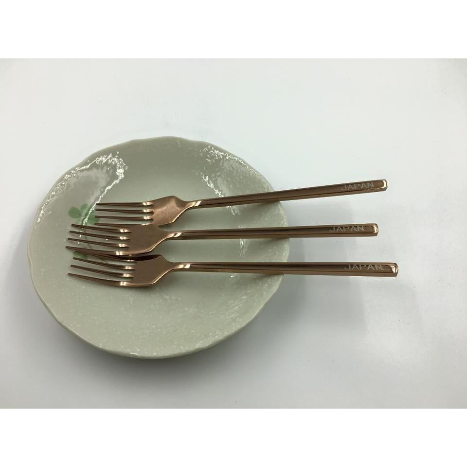 Set 5 dĩa inox đặc ruột 304 Japan