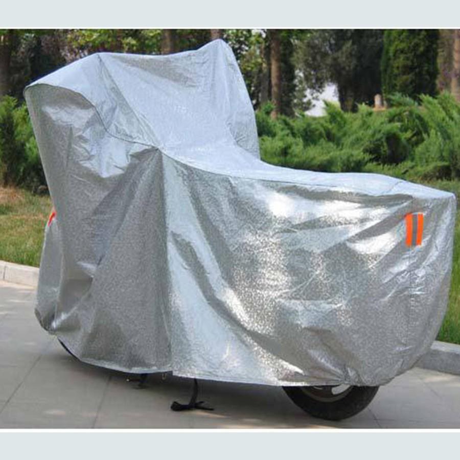 Áo Trùm Xe Bạt Trùm Xe Máy 3D Tráng Nhôm Cao Cấp Che Mưa Nắng Tránh Phai Màu Xe SH
