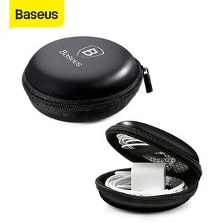 Túi Baseus thân cứng mini đựng tai nghe cáp sạc USB thẻ nhớ SD TF thumbnail