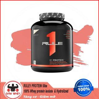 [Free Ship] Sữa Dinh Dưỡng Tăng Cơ RULE 1 Protein 5Lbs (2.3 KG) Chính Hãng Authentic 100%