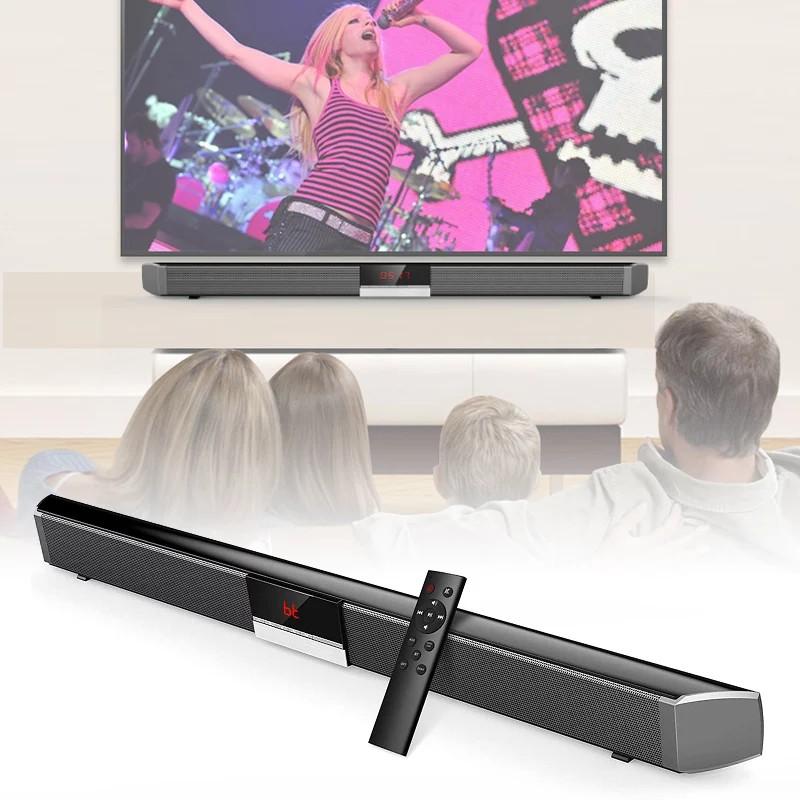 Loa soundbar tivi 3D âm thanh nổi kết nối không dây SR100 PLUS