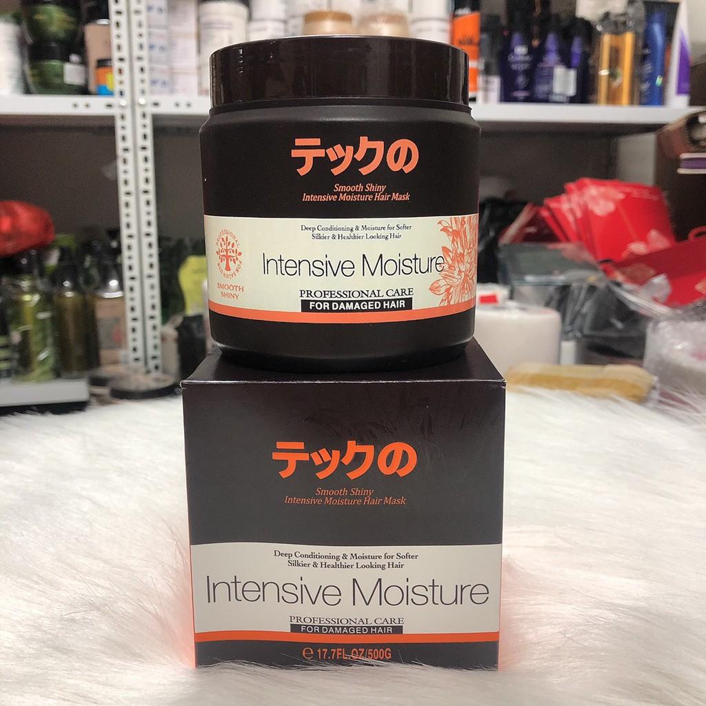 Kem ủ tóc hấp tóc Nhật Bản Intensive Moisture cho tóc hư tổn