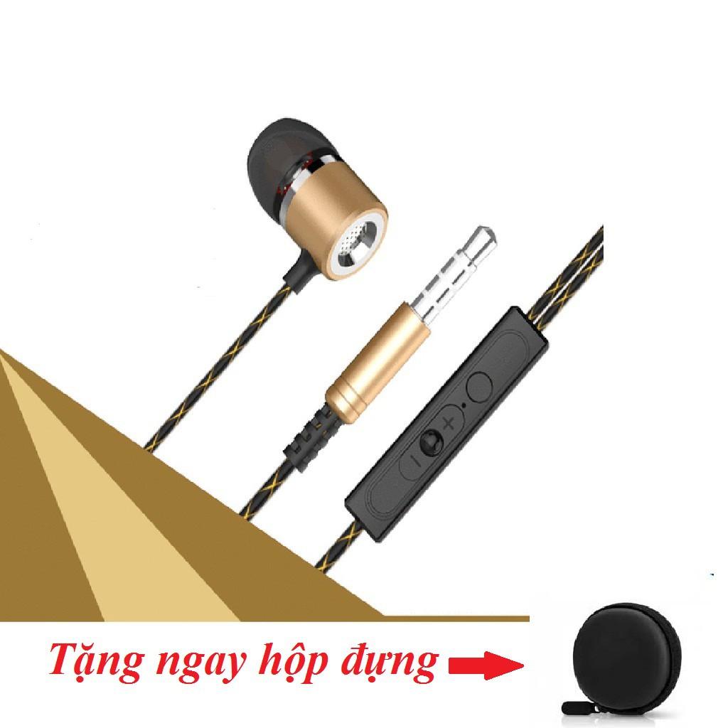 Tai nghe headphone FANBIYA S1 siêu bass cực bền tặng hộp đựng tròn -dc2594