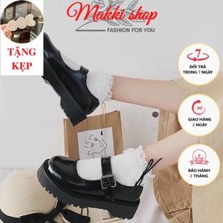 Bốt nữ cổ thấp Lolita, boot nữ thời trang cao cấp giá rẻ MAKKI SHOP TD411 thumbnail