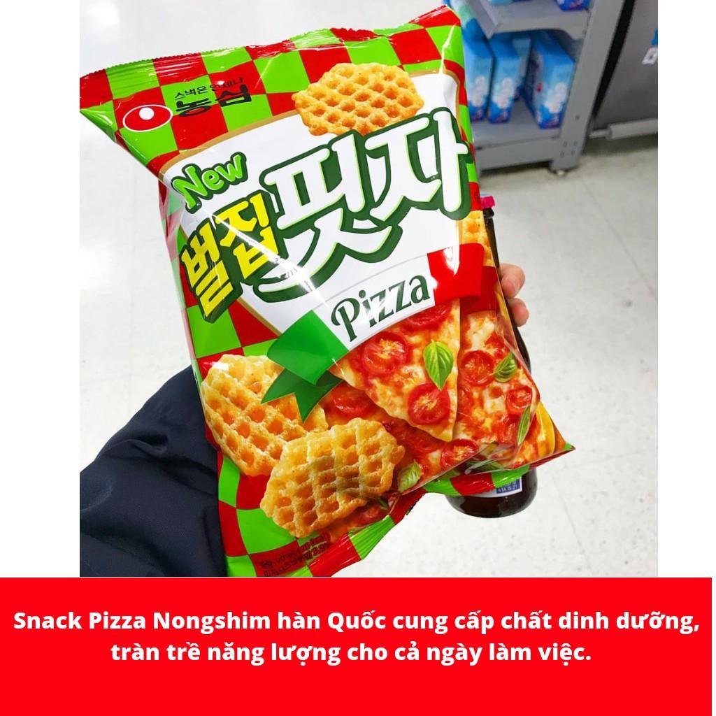 Snack Pizza Nongshim Hàn Quốc gói 90gr
