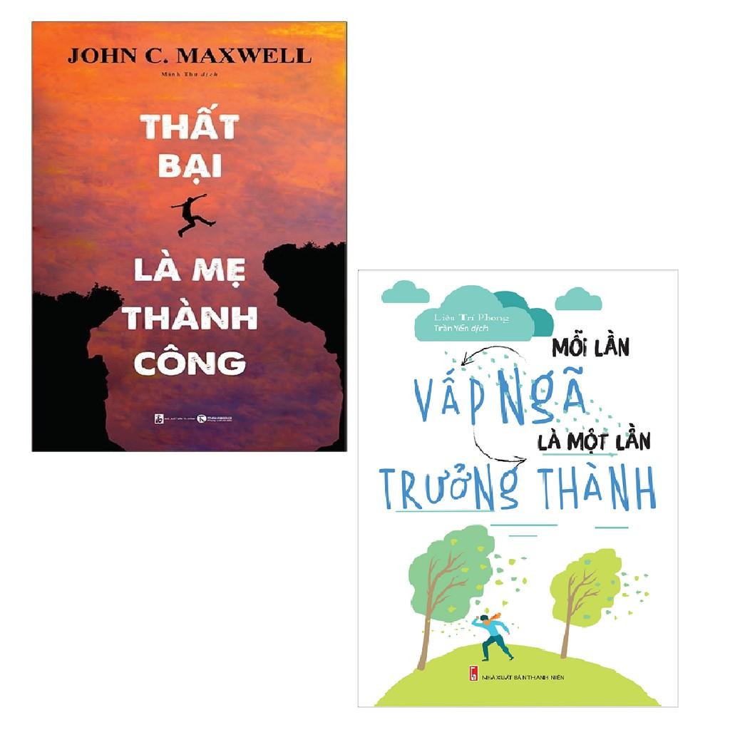 Sách - Combo Thất Bại Là Mẹ Thành Công + Mỗi Lần Vấp Ngã Là Một Lần Trưởng Thành (2 cuốn)